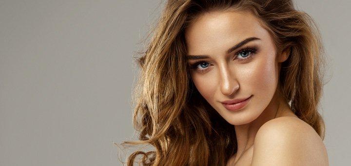До 7 сеансов мультиполярного RF-лифтинга кожи лица, шеи и декольте в салоне «Fashion Diva»