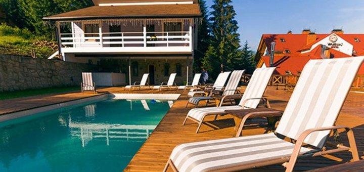 VIP отдых в Карпатах: от 3 дней для двоих в шикарном отеле «Wellland» в Яремче