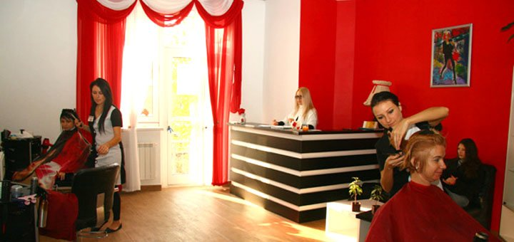 Стрижка, укладка, окрашивание, омбре, мелирование, брондирование в сети салонов красоты «Nateo»