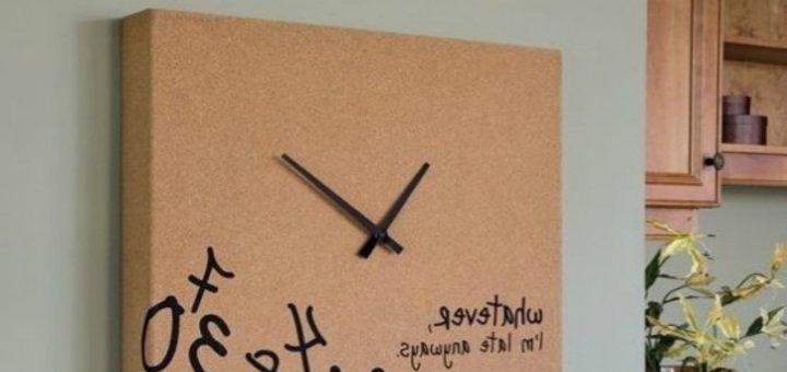 Печать на холсте с установкой часового механизма в студии фотопечати «Натали»