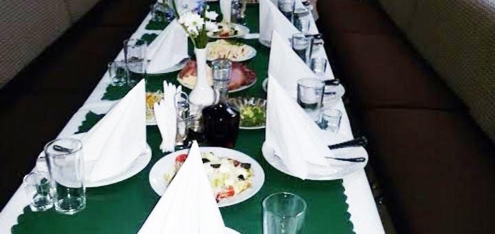 Скидка 25% на все меню кухни в кафе «Равиоль»