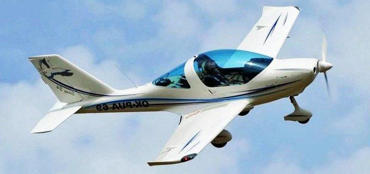 Ознакомительный полет на самолете Sting или Cessna с агентством полётов «Всем Полет»