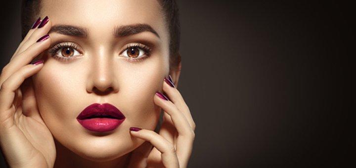 Татуаж губ, глаз или бровей на выбор в салоне красоты «Юлия»