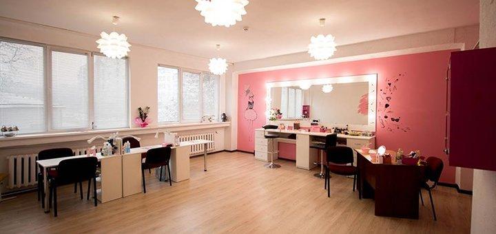 Вечірній макіяж від салону краси «Pink Me»