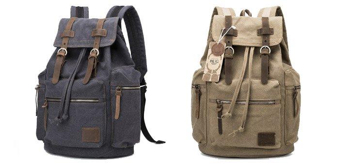 Скидка 15% на прочные мужские рюкзаки из материала «Canvas» в интернет-магазине «I-MAN.COM.UA»