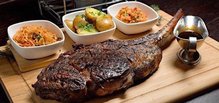 Знижка 40% на основне меню кухні в стейк-хаусі «T.G.Amigos»