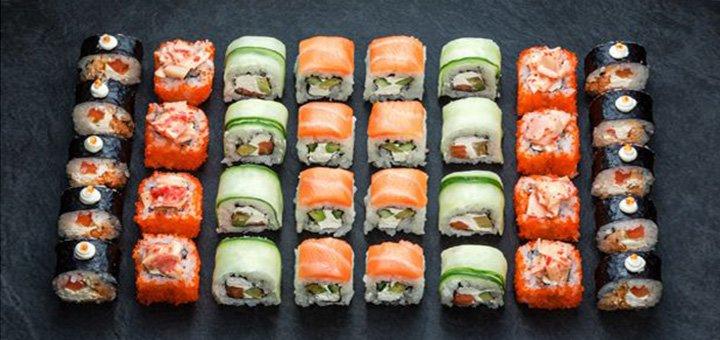 Скидка 52% на суши-сет «Кито» от службы доставки «Kaminohi-sushi»